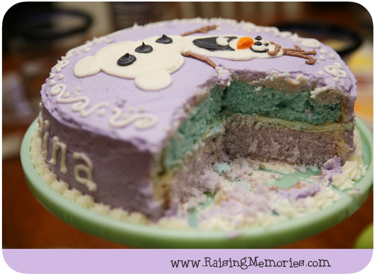 Creative Frozen Olaf Cake Step by Step Instructions