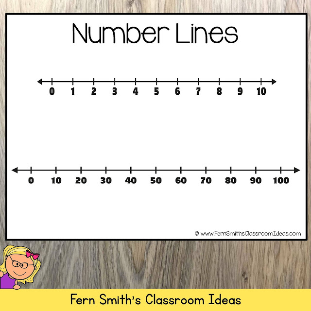 FREE Rounding to the Nearest Ten or Hundred Number Line Perfect for Teaching 3rd Grade Math Rounding to the Nearest Ten or Hundred from #FernSmithsClassroomIdeas