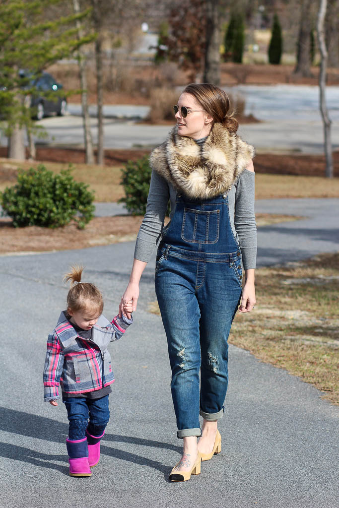 Mom Style- Overalls