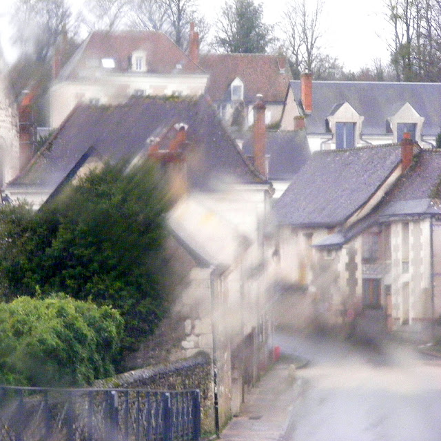 Azay sur Indre in the rain, Indre et Loire, France. Photo by Loire Valley Time Travel.