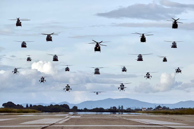 Esercito AVES esercitazione CAEX 2018