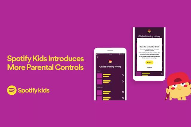 Spotify kids parental controls