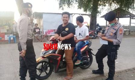 Personil Polsek Marbo Gencar Melakukan Operasi Yustisi Guna Tindak Lanjut Perbup No.25 Tahun 2020