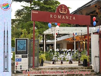 Romanza Restaurant, Kuala Lumpur