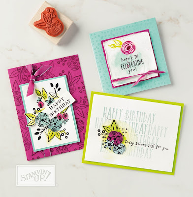 Stampin' Up! Perennial Birthday Cards ~ 2018 Occasions Catalog