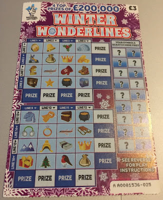 National Lottery Winter Wonderlines 2018