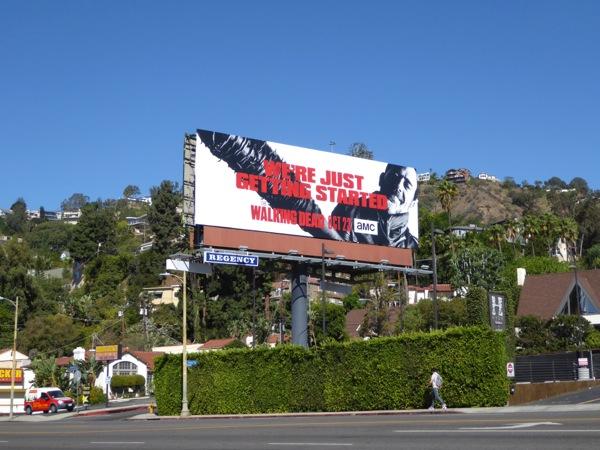 The Walking Dead season 7 billboard