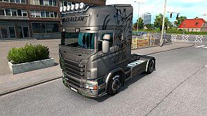 Turkish Metalic skin for Scania RJL