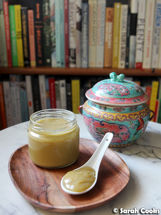 Coconut egg jam