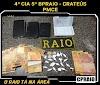 Raio prende dona de bar por tráfico de drogas em Crateús
