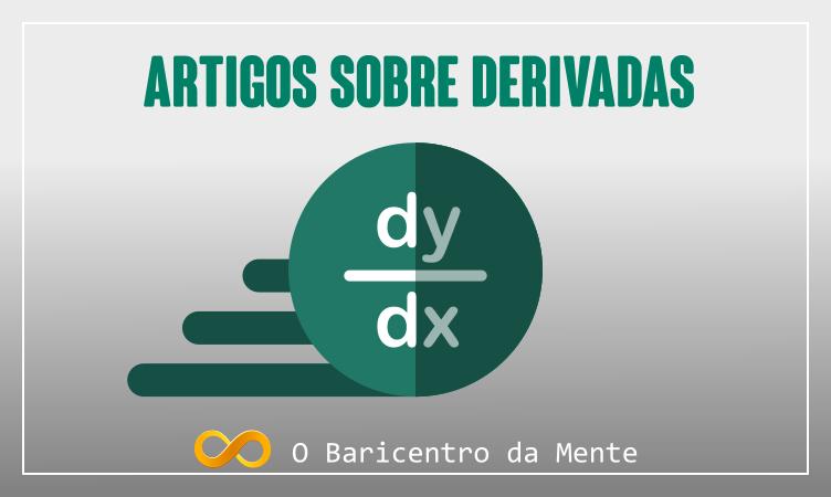 Resolução de derivadas, banner da página o baricentro da mente