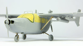 Build review part I: 1/48th scale O-2A (late production) USAF observation aircraft from ICM Models