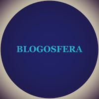 A imagem redonda que representa a Terra azul do espaço diz:blogosfera.