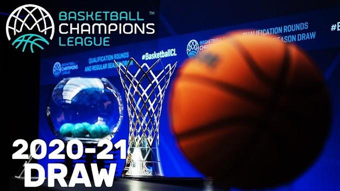 Basketball Champions League: Δύσκολη κλήρωση για τις ελληνικές ομάδες