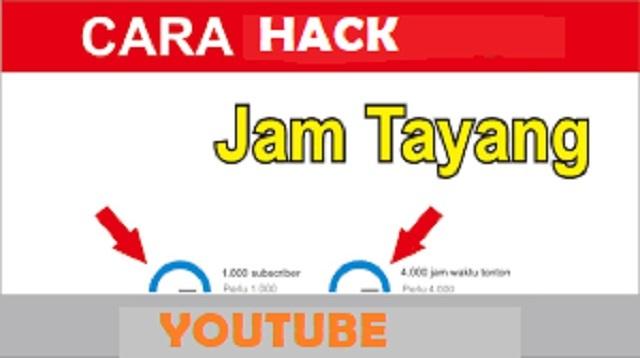 Cara Hack Jam Tayang Youtube