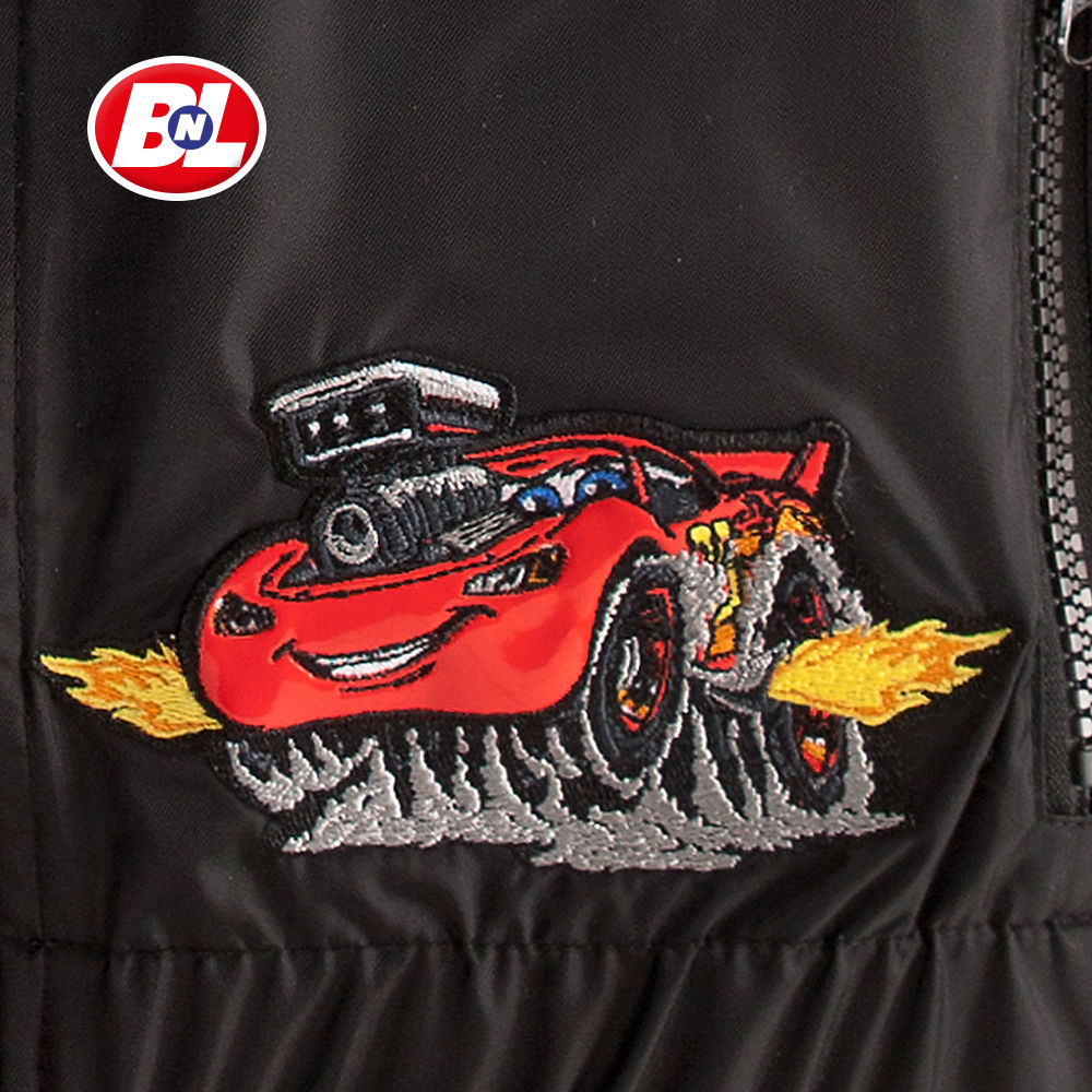 Welcome On Buy N Large Cars 2 Lightning Mcqueen Silver: WELCOME ON BUY N LARGE: Cars 2: Lightning McQueen Jacket