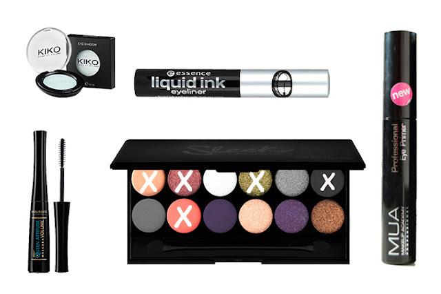 Productos utilizados. Maquillaje de ojos con la paleta Showstoppers de Sleek.