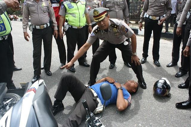 Personil Satlantas Polresta Pekanbaru Ikuti Pelatihan Laka Lantas TPTKP