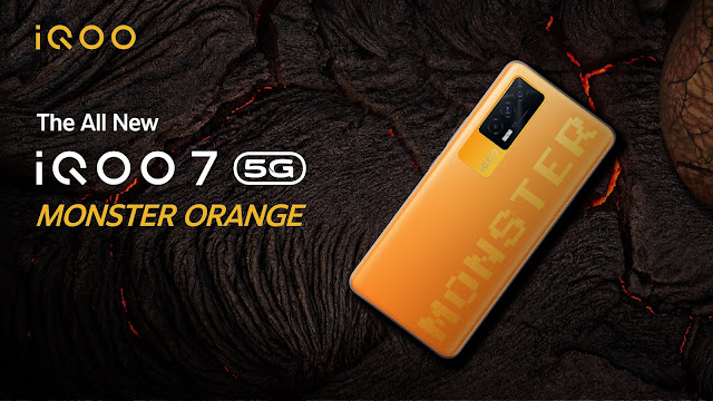 iQOO 7 5G launched in Monster Orange - Sale starts on 26th July on Amazon   TechNeg