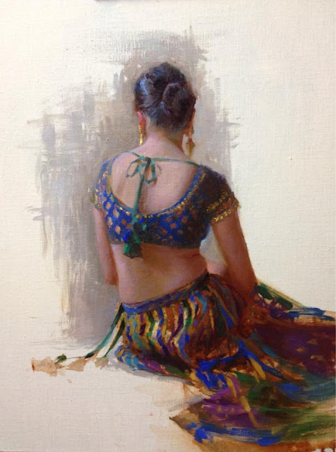 Suchitra Bhosle | Indian Figurative Painter | Woman Paintings