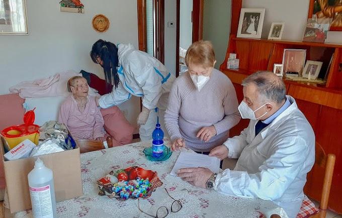 Covid-19. A 108 anni vaccinata a Picerno (Pz)