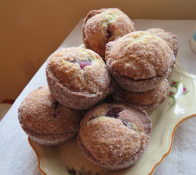Jam Doughnut Muffins