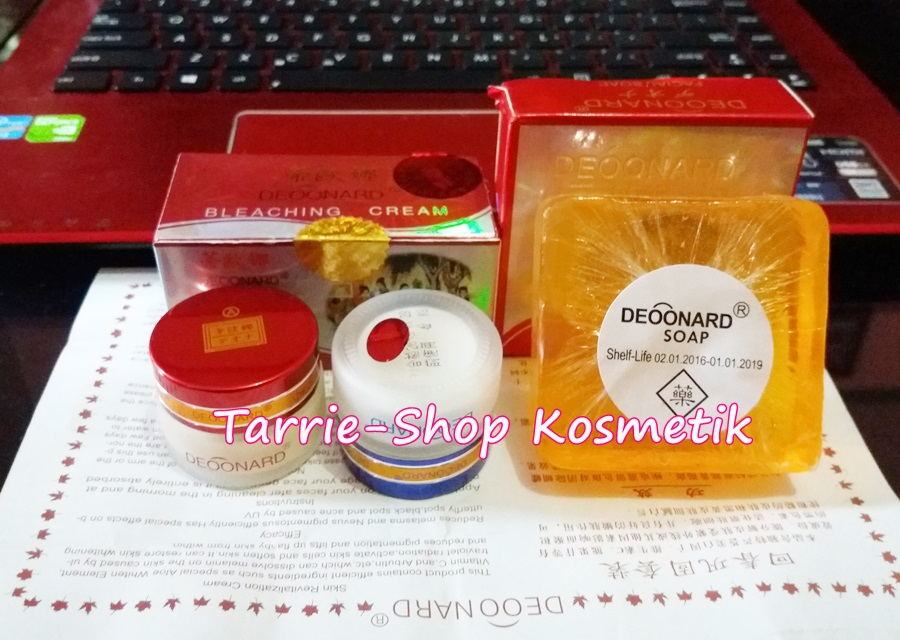 Paket Deoonard Red SMALL