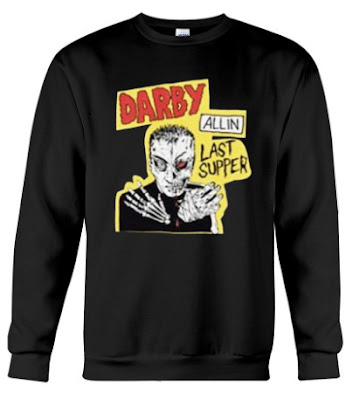 spinebuster merch DA DARBY LAST SUPPER TEE spinebuster merch T Shirts Hoodie