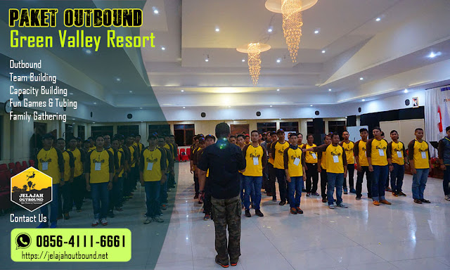 paket one day outbound green valley bandungan