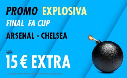 suertia promo FA CUP Arsenal vs Chelsea 1-8-2020