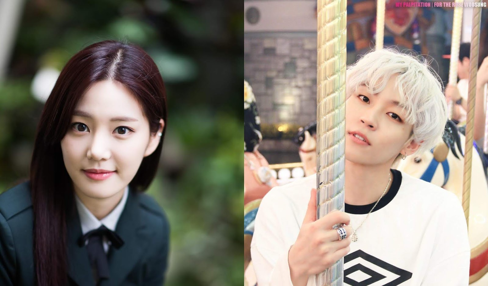 The Rose Woosung and Actress Lee Yoo Bi Involved Dating Rumors, These are Agency Responds