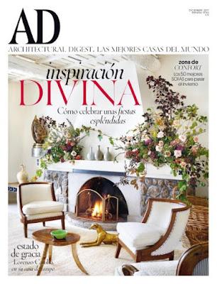 Revista AD Architectural Digest España Diciembre 2017
