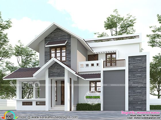 front elevation design of the home