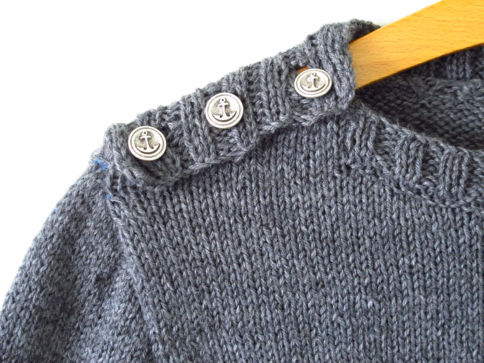 Modele Tricot Pull Marin Homme
