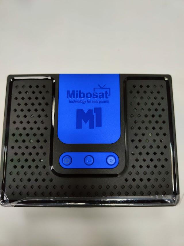 Mibosat M1 Primeira Atualização V4.0.77 - 15/09/2021