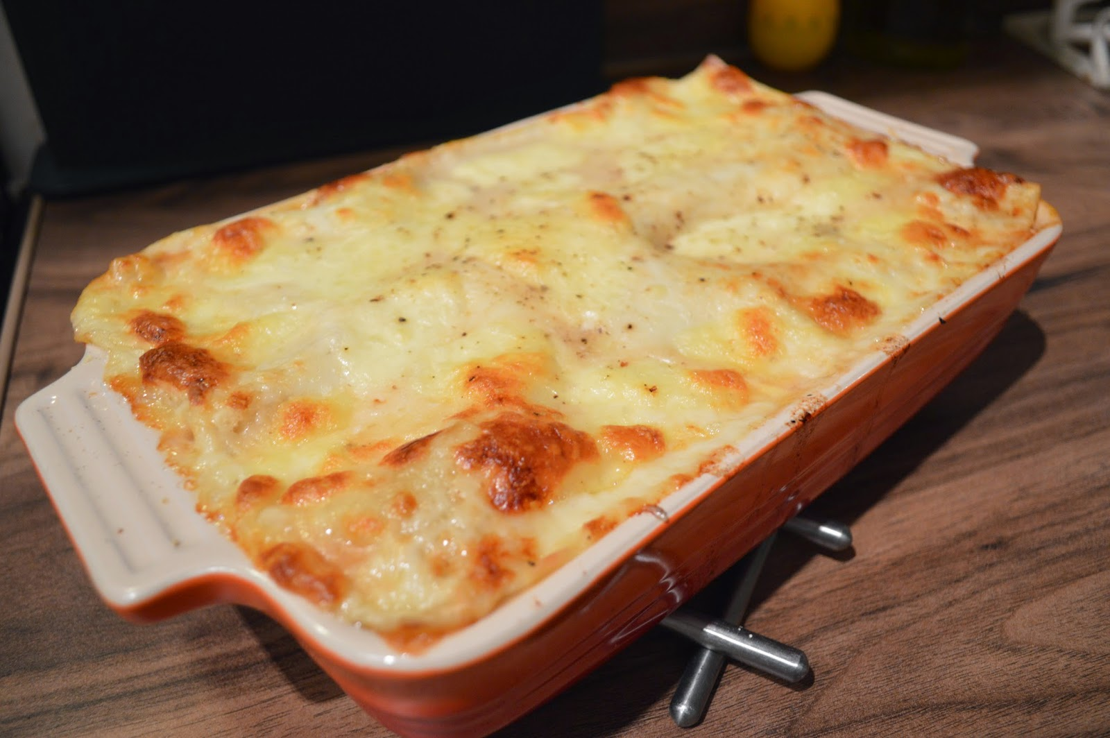 Home made lasagne