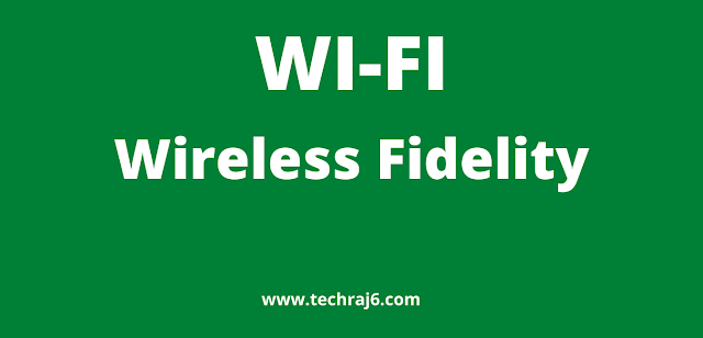 WI-FI full form, What is the full form of WI-FI