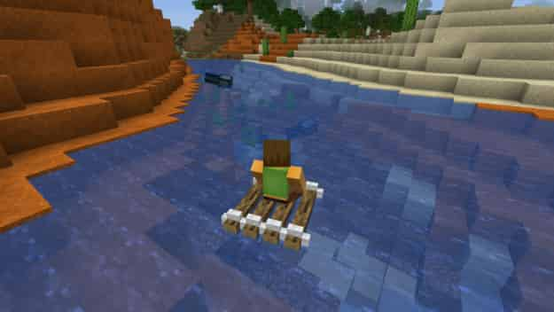 مود Just A Raft Mod