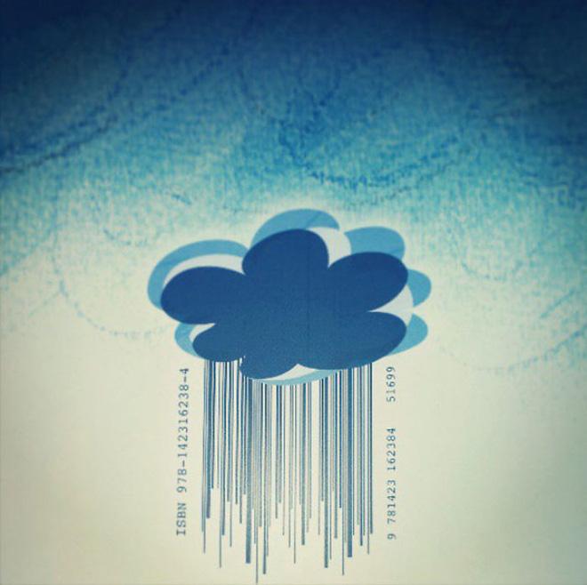 Cuốn sách về khí tượng thủy văn cho trẻ nhỏ có Barcode là những giọt mưa