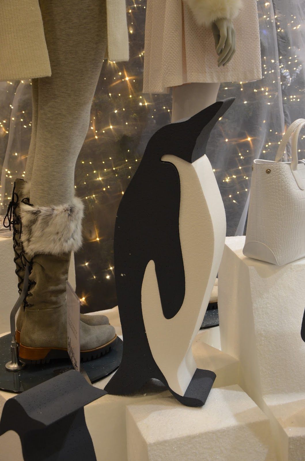 décoration pingouin Galerie Lafayettes