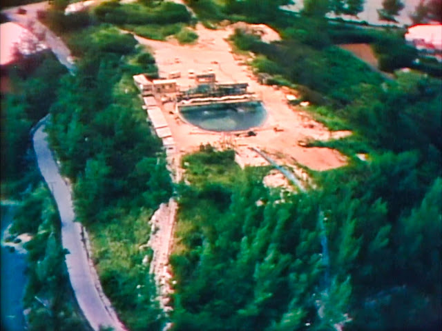 The Deep BUS site at Hospital Island 1976