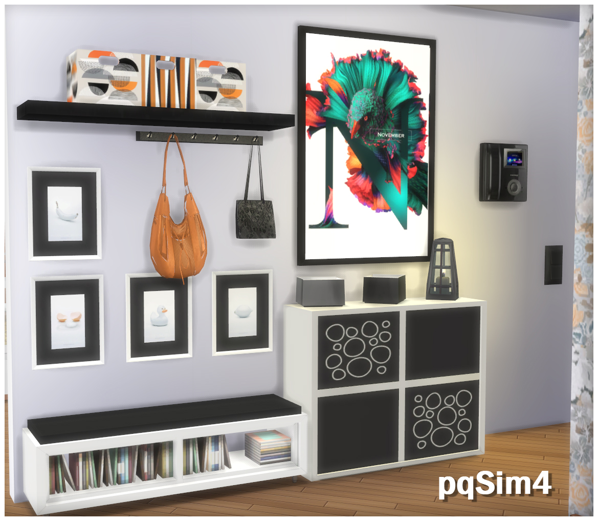 Sims 4 Cc S The Best Hallway Madison By Pqsim4