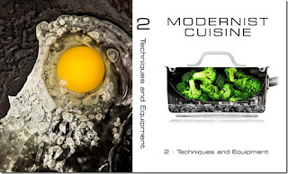 Modetnist cuisine cookbook series