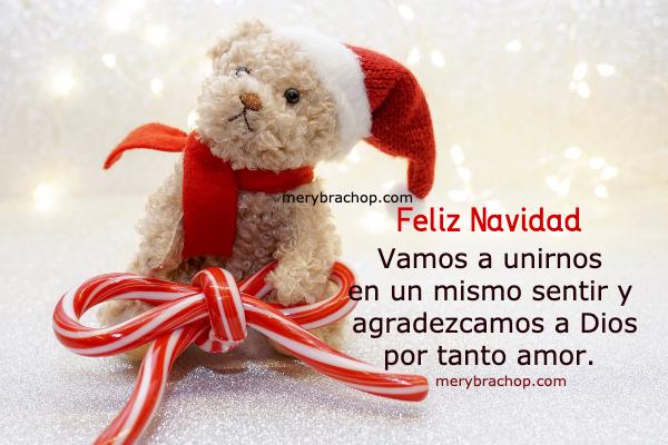 saludo navideño feliz navidad con mensaje corto cristiano por mery bracho osito de peluche