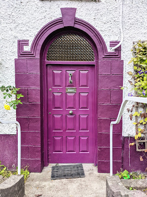 Things to do near Athlone: Purple door in Glasson
