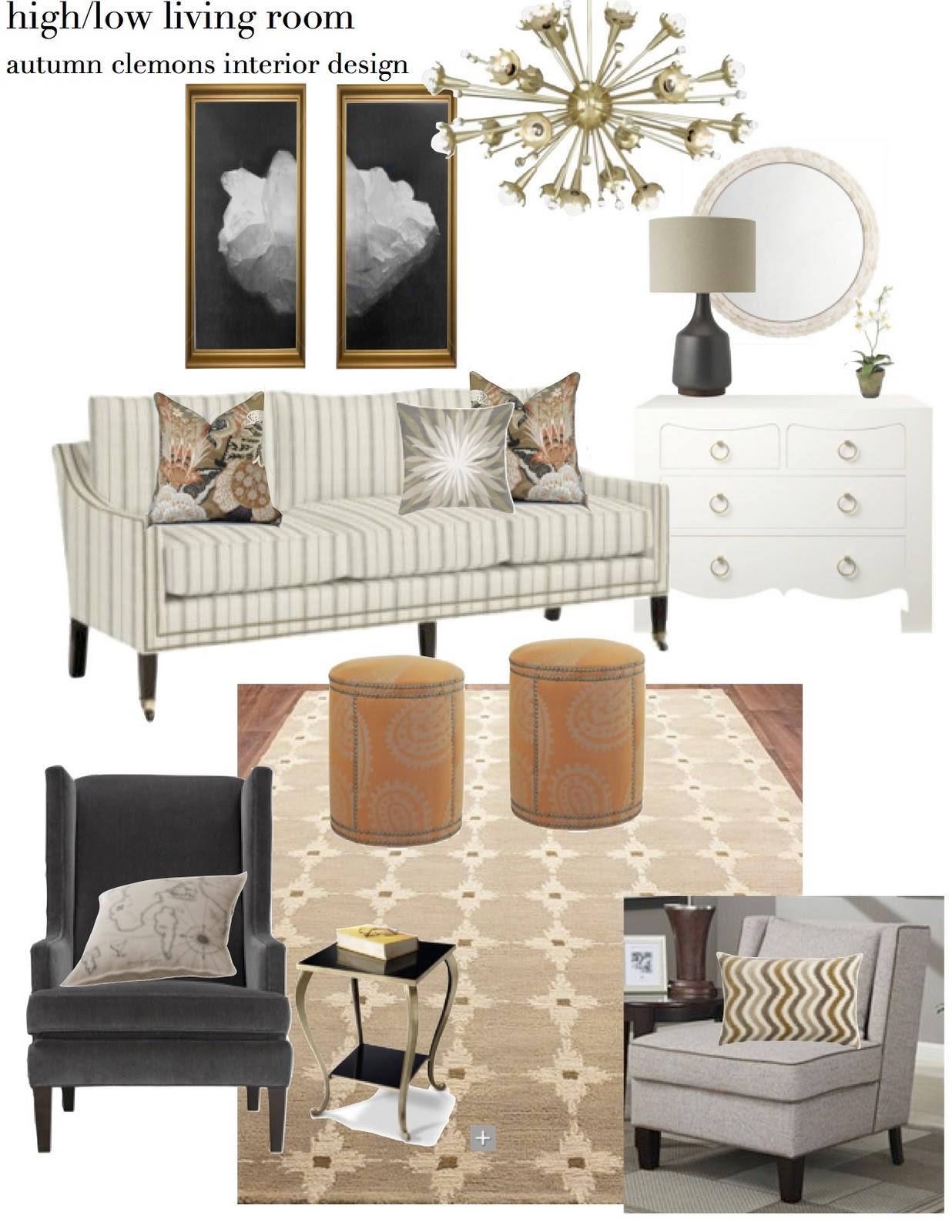 Room Design Program: Design Dump: Design Plan: The Good Mood Board Living Room