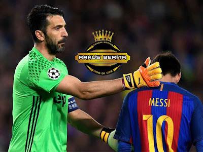 Lionel Messi Menjadi Lawan Tersulit Buffon