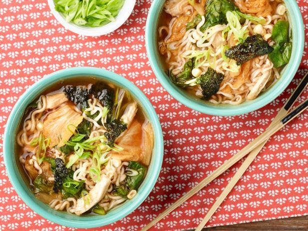 10-Minute Chicken, Corn and Kimchi Ramen