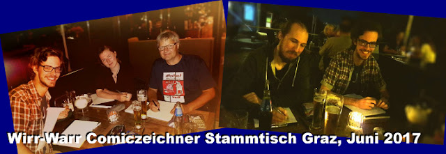 In der Steiermark treffen sich die Comiczeichner in Graz