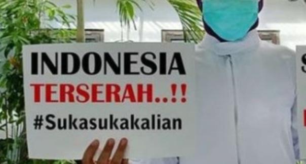 Indonesia Terserah, Pemerintah Minta Tenaga Medis 'Yang Telah Bertaruh Nyawa' Tidak Kecewa